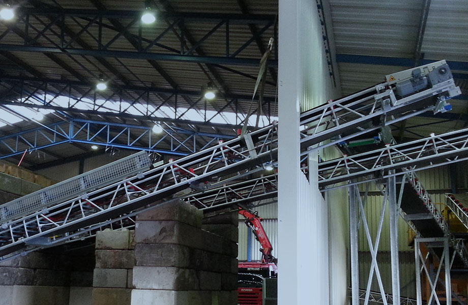 Bij Konings Transportbanden leveren wij diverse transportbanden voor de industrie
